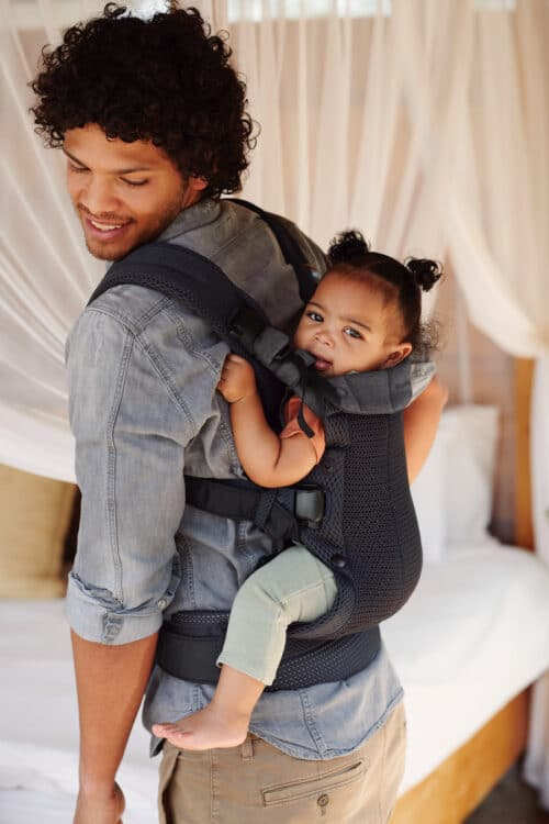 BABYBJORN Announces New Baby Carrier Harmony - back carry