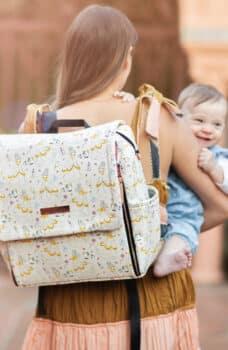 Petunia Pickle Bottom Debuts New Capsule Disney Princess Diaper Bag Collection - belle