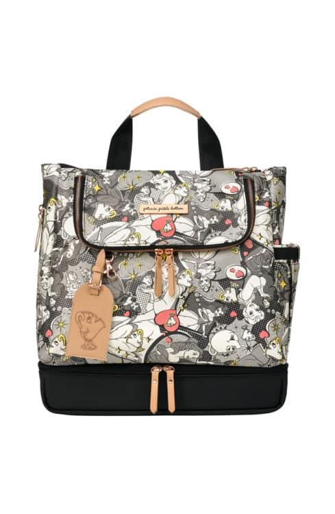 Petunia Pickle Bottom Debuts New Capsule Disney Princess Diaper Bag Collection - pop art belle front