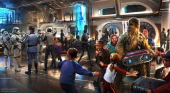 Star Wars - Galactic Starcruiser Atrium