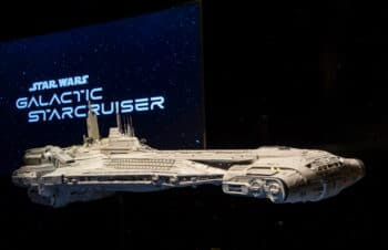 Star Wars - Galactic Starcruiser Model at Disneys Hollywood Studios