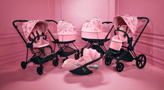 CYBEX Simply Flowers collection - pink group shot