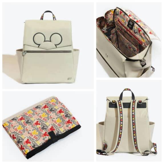 Freshly Picked Mickey Mania Diaper Bag backpack