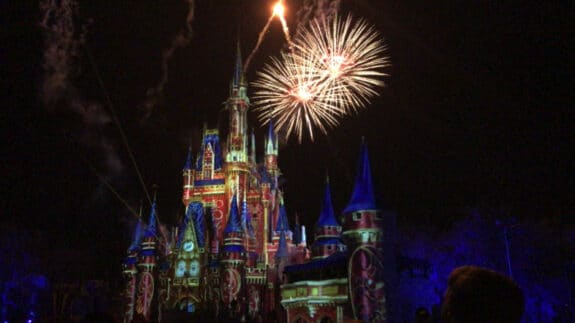 Happily Ever After Fireworks magic kingdom