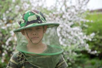 bug net hat