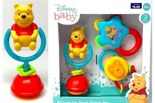 Disney Baby Winnie the Pooh Rattle Sets recall
