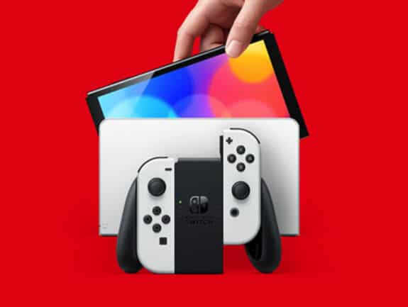 Nintendo Announces New 7-inch OLED Switch Model