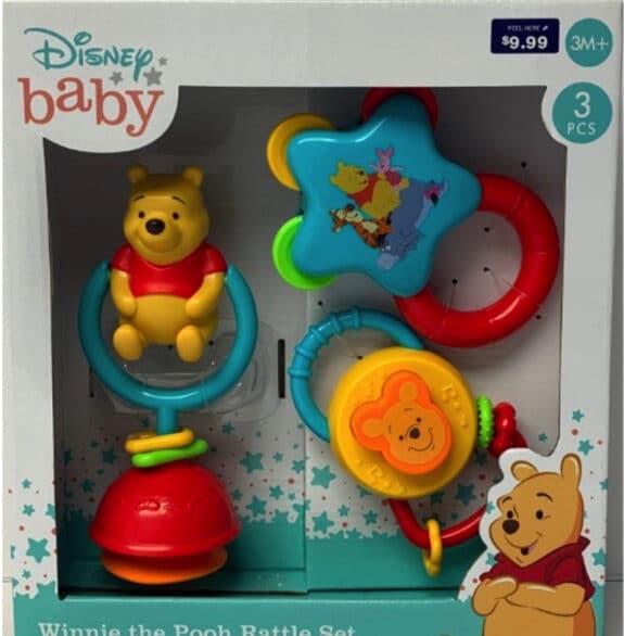 Recalled Disney Baby Winnie the Pooh Rattle Set