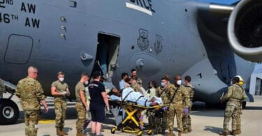 Afghan Mom Fleeing the Taliban in Kabul Goes into Labor Aboard U.S. Air Force Plane
