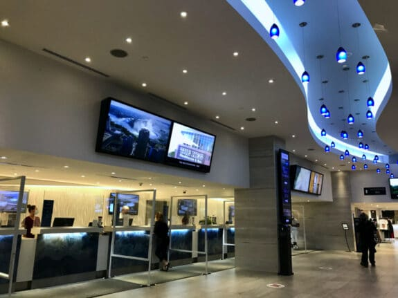 Family Travel Review - Embassy Suites Falls View Niagara Falls Canada checkin