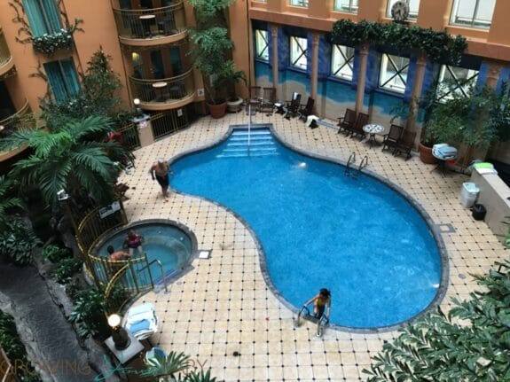 Hotel Palace Royal Centre-Ville Quebec City pool