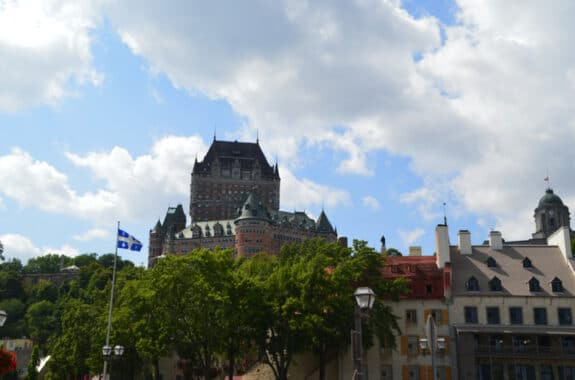 quebec city family travel chateau frontenac