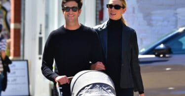 Karlie Kloss and husband Joshua Kushner step out with their baby for lunch in NYC f