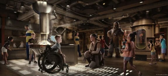 Dsiney Wish - Star Wars Cargo Bay