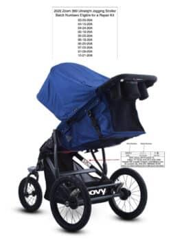 Recall Joovy Zoom 360 Ultralight Jogging Strollers Due to Fall Hazard