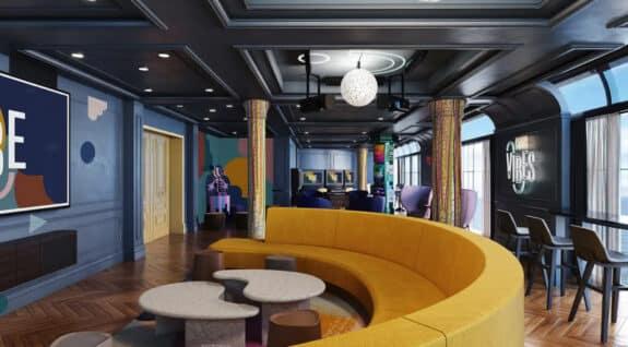 disney wish cruise ship Vibe lounge