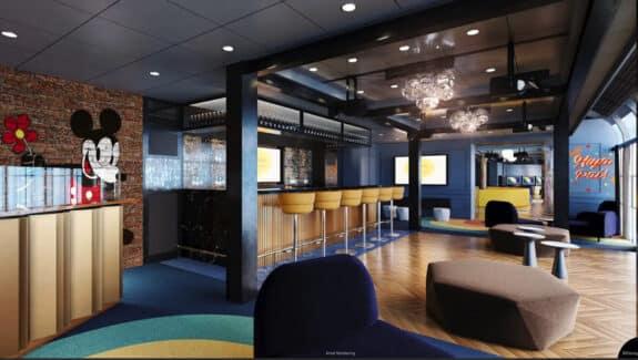 disney wish cruise ship hideaway lounge