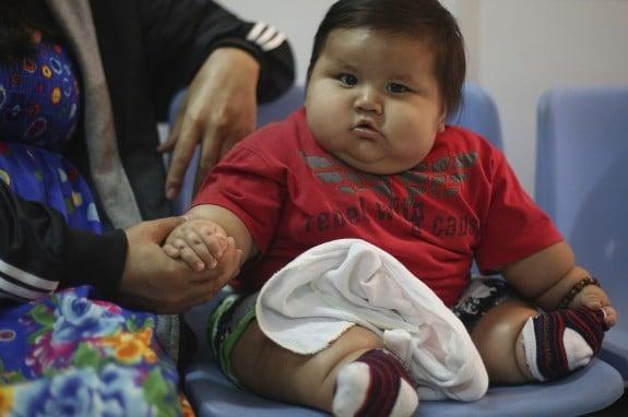 42lb baby Santiago Mendoza