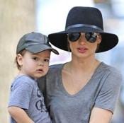 Miranda Kerr & Her Son Flynn Stroll Through Central Park