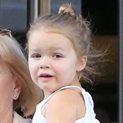 Harper Beckham Steps Out With Her Grandparents in NYC