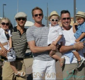 Neil Patrick Harris and His Family Vacation With David Furnish in St. Tropez