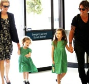 Nicole Kidman & Keith Urban Head Home With Their Girls!