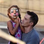 Olivier Martinez Picks Pumpkins With Daughter Nahla