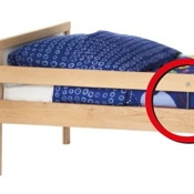 RECALL: 40,000  IKEA Junior Beds Due to Laceration Hazard