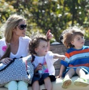 Denise Richards Tours Underwood Family Farm With Bob, Max & Eloise!