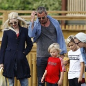 The Rossdales Visit The Safari Park in Bedfordshire
