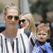 Molly Sims Steps Out With Her Son Brooks in LA