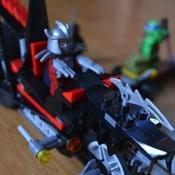 Hot For The Holidays! Shredder's Dragon Bike Teenage Mutant Ninja Turtle Set