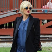 Gwen Stefani Steps Out With Her Family in LA