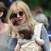 Sienna Miller Shops With Marlowe In NYC