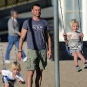 Naomi Watts and Liev Schreiber Go Biking with the Boys