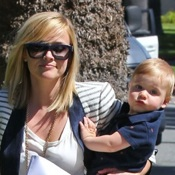 Reese Witherspoon and her son Tennessee Visit Friends in LA