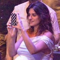 A Very Pregnant Penelope Cruz Enjoys The Night Out in Spain!