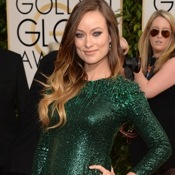 Olivia Wilde ~ Gorgeous in Green at The Golden Globes!