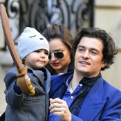 Orlando Bloom and Miranda Kerr Have A Family Day Out With Their Son Flynn