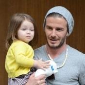 David Beckham Shops With His Ladies in Paris!