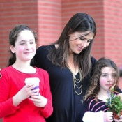 Soleil Moon Frye Attends Baby2Baby Event With Her Girls