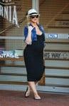 A Pregnant Christina Aguilera out in LA