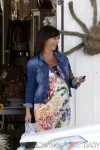 A Pregnant Jennifer Love Hewitt out in LA