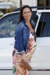 A Pregnant Jennifer Love Hewitt out in Santa Monica