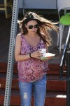 A pregnant Mila Kunis out in LA