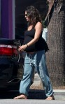 A very Pregnant Mila Kunis  out in LA
