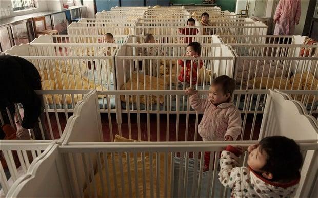 Abandoned babies china