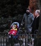 Adele & Simon Konecki Stroll with Son Angelo in London