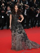 Aishwarya Rai attends 'Inside Llewyn Davis' Premiere during the 66th Annual Cannes Film Festival at Palais des Festivals in Cannes
