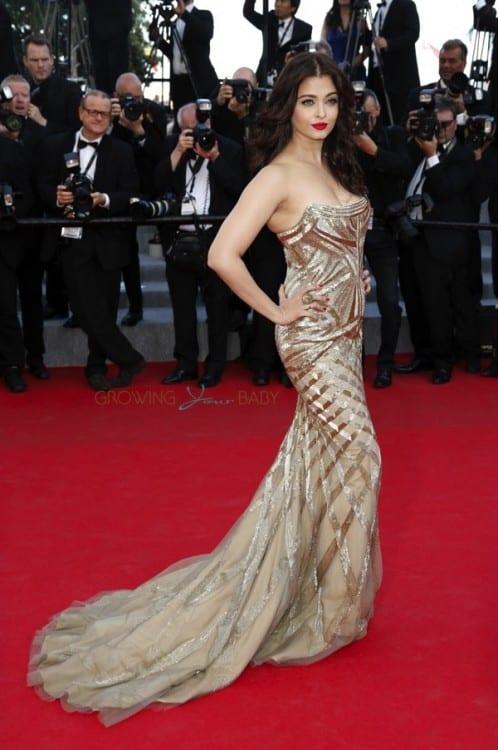 Aishwarya Rai at 'Two Years One Night' premiere, Cannes 2014